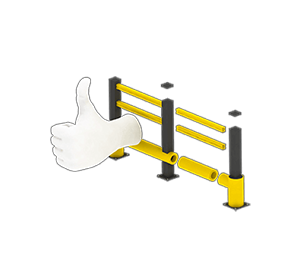 Les avantages des barrières amortissantes - Une installation facile et modulaire - Barrieredeprotection.fr